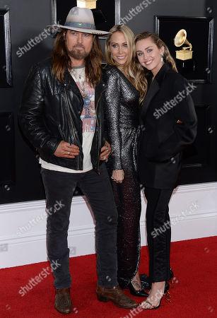 Billy Ray Cyrus, Letitia Cyrus, Miley Cyrus