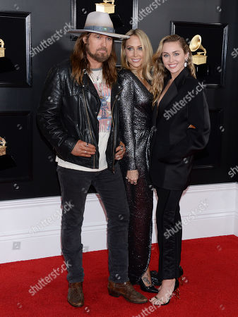 Billy Ray Cyrus, Letitia Cyrus and daughter Miley Cyrus