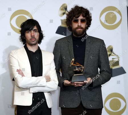 Editorial photo of Press Room - 61st Annual Grammy Awards, Los Angeles, USA - 10 Feb 2019