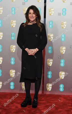 Nicole Holofcener attends the 72nd annual British Academy Film Awards at the Royal Albert Hall in London, Britain, 10 February 2019. The ceremony is hosted by the British Academy of Film and Television Arts (BAFTA).