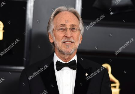 President and CEO of The Recording Academy Neil Portnow arrives at the 61st annual Grammy Awards at the Staples Center, in Los Angeles