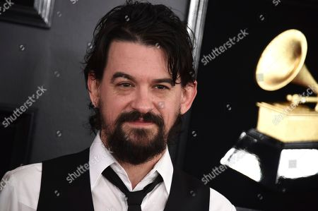 Shooter Jennings arrives at the 61st annual Grammy Awards at the Staples Center, in Los Angeles
