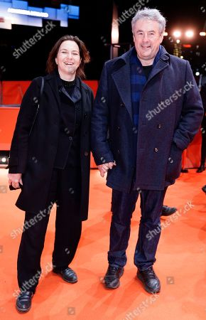 Martina Gedeck (L) and her husband director Markus Imboden arrive for the premiere of 'Mr. Jones' during the 69th annual Berlin Film Festival, in Berlin, Germany, 10 February 2019. The movie is presented in the Official Competition at the Berlinale that runs from 07 to 17 February.
