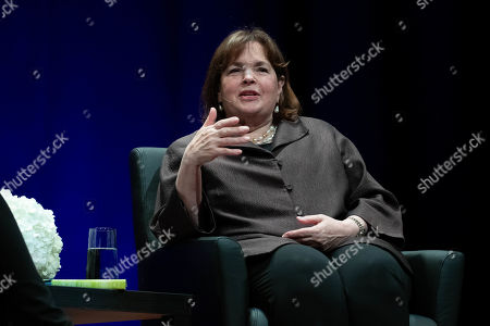 Stock Picture of Author Deborah Davis and Ina Garten, The Barefoot Contessa, share her natural approach to food; entertaining tips, and stories at the Long Center for the Performing Arts