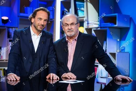 Francois Busnel and Salman Rushdie