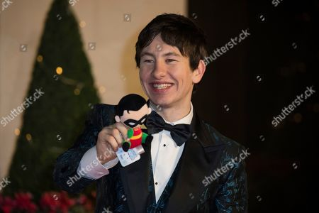Barry Keoghan poses for photographers upon arrival at the BAFTA Film Awards after party in London