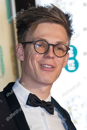 Caspar Lee poses for photographers upon arrival at the BAFTA Film Awards after party in London