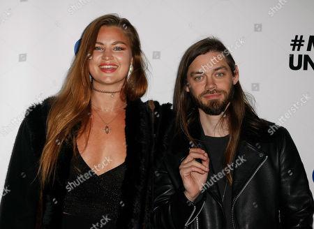 Jennifer Akerman and Tom Payne