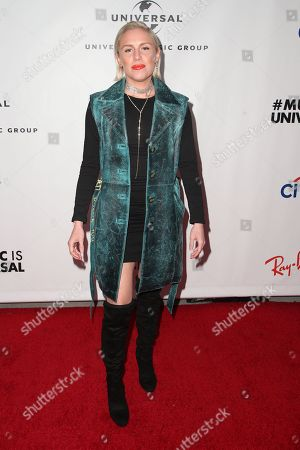 Editorial image of Universal's Grammys After Party, Arrivals, ROW DTLA, Los Angeles, USA - 10 Feb 2019