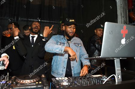 Stock Photo of Boi-1da performs at Universal Music Group's 2019 After Party celebrating music's biggest night presented by Citi, on in Los Angeles