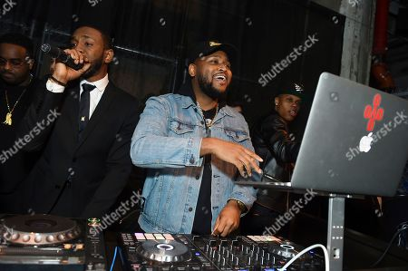 Stock Image of Boi-1da performs at Universal Music Group's 2019 After Party celebrating music's biggest night presented by Citi, on in Los Angeles