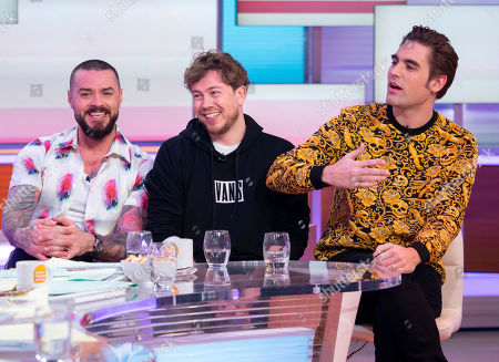Busted - Matt Willis, James Bourne and Charlie Simpson