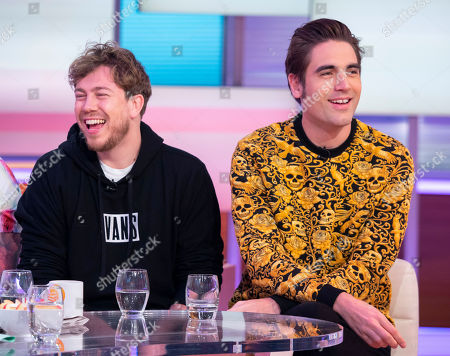 Busted - Matt Willis, Charlie Simpson and James Bourne