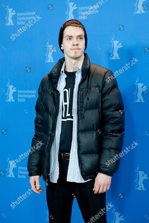 Robert Naylor poses during the photocall of 'Ghost Town Anthology ' (Repertoire des villes disparues) during the 69th annual Berlin Film Festival, in Berlin, Germany, 11 February 2019. The movie is presented in the Official Competition at the Berlinale that runs from 07 to 17 February.