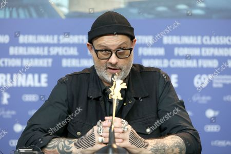 Denis Cote attends the press conference of 'Ghost Town Anthology' (Repertoire des villes disparues) during the 69th annual Berlin Film Festival, in Berlin, Germany, 11 February 2019. The movie is presented in the Official Competition at the Berlinale that runs from 07 to 17 February.