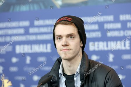 Robert Naylor attends the press conference of 'Ghost Town Anthology' (Repertoire des villes disparues) during the 69th annual Berlin Film Festival, in Berlin, Germany, 11 February 2019. The movie is presented in the Official Competition at the Berlinale that runs from 07 to 17 February.