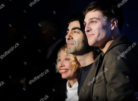 Margarethe Tiesel, Fatih Akin and Jonas Dassler