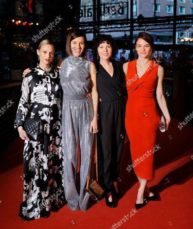 Marie Kreutzer, Valerie Pachner, Pia Hierzegger and Mavie Hörbiger
