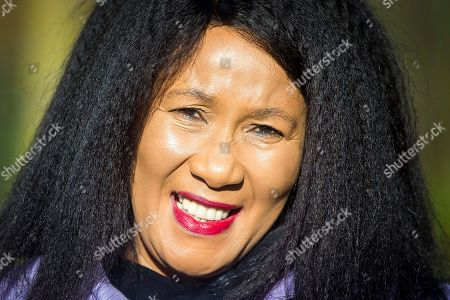 Stock Photo of Dr Makaziwe Mandela in Liverpool today. Nelson Mandela's eldest daughter Dr Makaziwe Mandela & his granddaughter Tukwini Mandela are visiting Princes Park in Liverpool this morning to see the location where a memorial to the former president will be built.