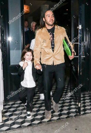 Pete Wentz with son Saint Wentz