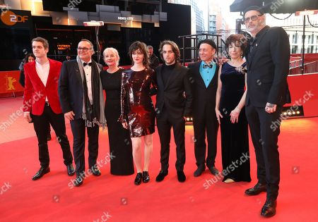 Stock Photo of Robert Naylor, Jean-Michel Anctil, Diane Lavallee, Larissa Corriveau, Remi Goulet, Normand Carriere, Jocelyne Zucco and director Denis Cote arrive for the premiere of 'Ghost Town Anthology' during the 69th annual Berlin Film Festival, in Berlin, Germany, 11 February 2019. The movie is presented in the Official Competition at the Berlinale that runs from 07 to 17 February.