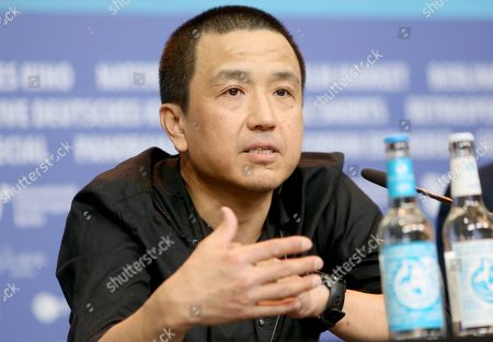 Lou Ye attends the press conference of 'The Shadow Play' during the 69th annual Berlin Film Festival, in Berlin, Germany, 11 February 2019. The movie is presented in the Panorama section at the Berlinale that runs from 07 to 17 February.