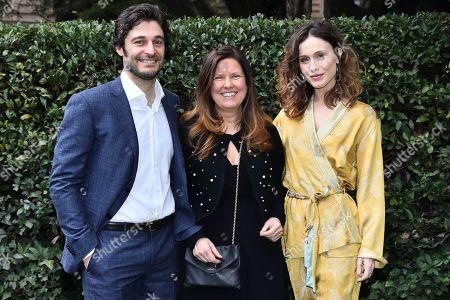 Lino Guanciale, Monica Maggioni, Gabriella Pession