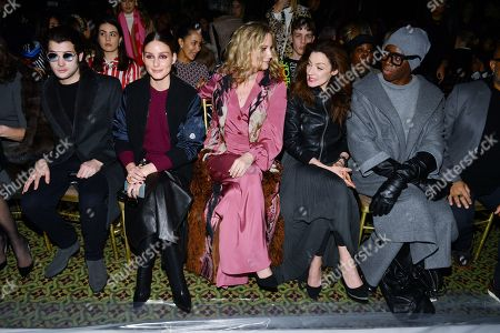 Peter Brant Jr, Olivia Palermo, Jennifer Nettles, Michelle Gomez and Miss Jay Alexander