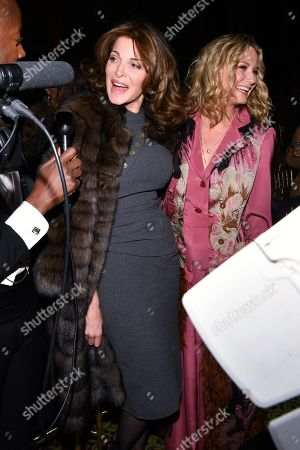Stock Picture of Stephanie Seymour and Jennifer Nettles