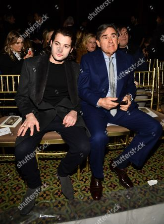 Peter Brant Jr and Peter Brant