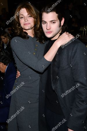 Stephanie Seymour and Peter Brant Jr