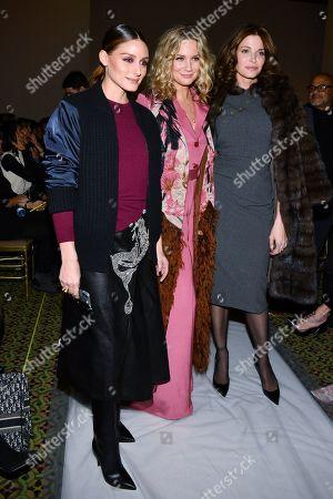 Olivia Palermo, Jennifer Nettles and Stephanie Seymour