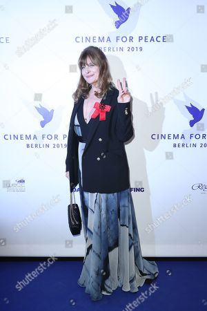 Nastassja Kinski attends the Cinema For Peace Gala during the 69th annual Berlin Film Festival, in Berlin, Germany, 11 February 2019. Berlinale runs from 07 to 17 February.