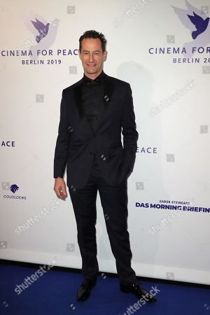 Sebastian Copeland attends the Cinema For Peace Gala during the 69th annual Berlin Film Festival, in Berlin, Germany, 11 February 2019. Berlinale runs from 07 to 17 February.