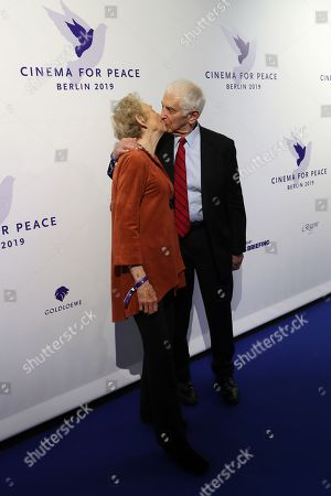 Stock Image of Daniel Ellsberg (R) and wife Patricia Marx Ellsberg attend the Cinema For Peace Gala during the 69th annual Berlin Film Festival, in Berlin, Germany, 11 February 2019. Berlinale runs from 07 to 17 February.