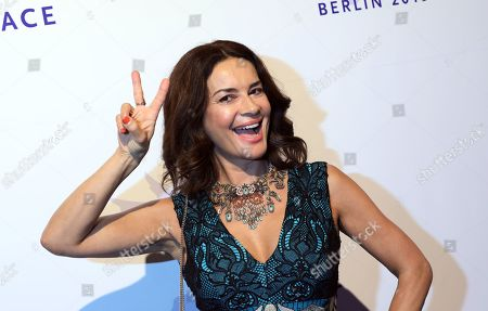 Stock Picture of Gitta Saxx attends the Cinema For Peace Gala during the 69th annual Berlin Film Festival, in Berlin, Germany, 11 February 2019. Berlinale runs from 07 to 17 February.