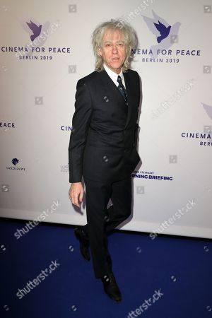 Bob Geldof attends the Cinema For Peace Gala during the 69th annual Berlin Film Festival, in Berlin, Germany, 11 February 2019. Berlinale runs from 07 to 17 February.