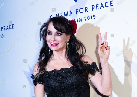 Stock Image of Anna Maria Kaufmann attends the Cinema For Peace Gala during the 69th annual Berlin Film Festival, in Berlin, Germany, 11 February 2019. Berlinale runs from 07 to 17 February.
