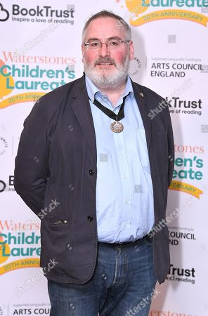 Editorial photo of Waterstones Children's Laureate 20th anniversary photocall, London, UK - 11 Feb 2019