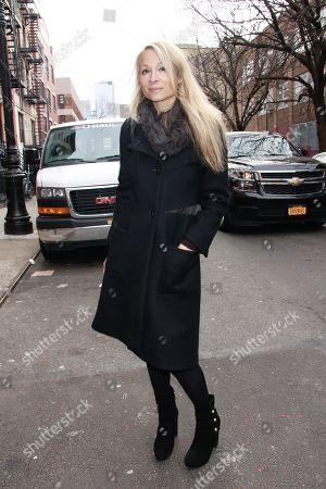Editorial photo of Alice and Olivia presentation, Arrivals, New York Fashion Week, USA - 11 Feb 2019