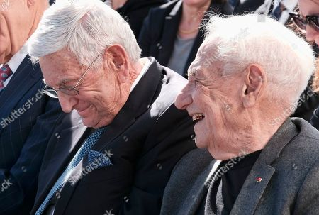 Frank Gehry, Eli Broad. Architect Frank Gehry, right, shares a lighter moment with billionaire philanthropist Eli Broad, center, prior to a groundbreaking ceremony for The Grand, a long-delayed massive development in downtown Los Angeles on . Broad told attendees Monday that the project stems from a vision of Grand Avenue becoming the arts, cultural and civic district for the region