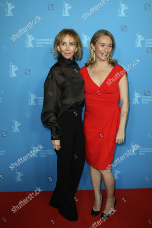 Trudie Styler and Celine Rattray
