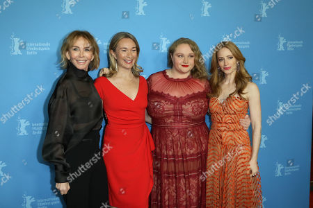 Trudie Styler, Celine Rattray, Danielle Macdonald and Jaime Ray Newman