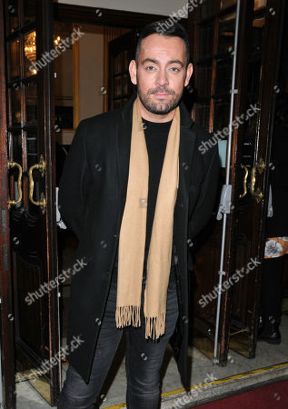 Editorial photo of 'Everybody's Talking About Jamie' musical performance, Arrivals, Apollo Theatre, London, UK - 11 Feb 2019