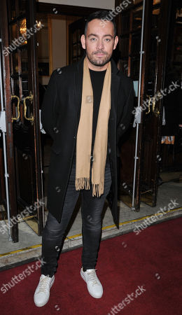 Stock Image of Ben Forster