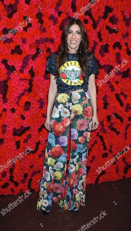 Editorial image of Alice and Olivia presentation, Arrivals, New York Fashioin Week, USA - 11 Feb 2019
