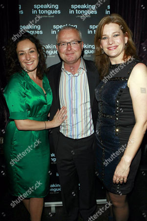 Lucy Cohu, Andrew Bovell and Kerry Fox