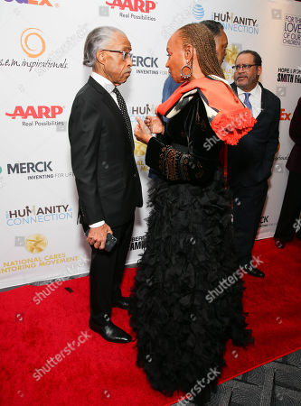 Reverend Al Sharpton and Susan L Taylor