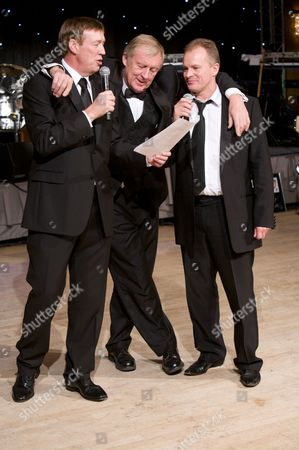 Mike Osman, Chris Tarrant & Bobby Davro