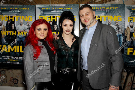 Editorial image of New York Special Screening for MGM's 'Fighting With My Family', USA - 11 Feb 2019